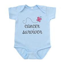 Breast Cancer Survivor Infant Bodysuit