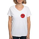 Infringement Women's V-Neck T-Shirt