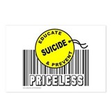 EDUCATE AND PREVENT SUICIDE Postcards (Package of