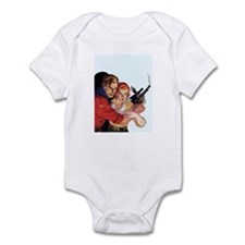 Protective Cowboy Infant Bodysuit