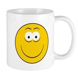 Classic Smiley Face Design Coffee Mug