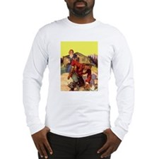 Cowboy and Wife Long Sleeve T-Shirt