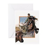 Cattle Herder Greeting Card