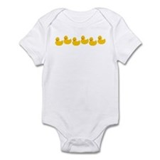 Duckies In A Row Infant Bodysuit