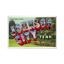 Johnson City Tennessee Rectangle Magnet (10 pack)