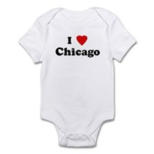 I Love Chicago Infant Bodysuit
