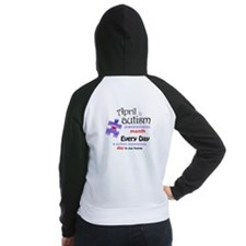 April Every Day (Pl) Women's Raglan Hoodie