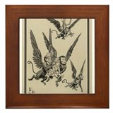 Flying Monkeys Framed Tile