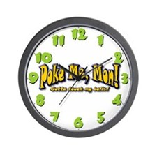 Wall Clock-Poke Me