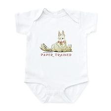 Scottish Terrier Trained Dog Infant Bodysuit