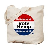Vote Hemp Tote Bag