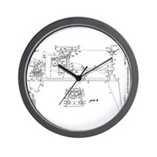 Cute Mark Wall Clock