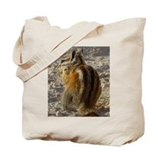 Funny Chipmunk photo Tote Bag