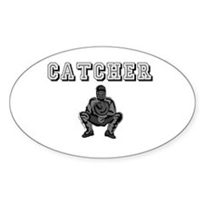 Catcher Oval Decal