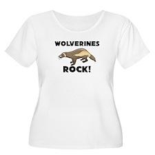 Wolverines Rock! T-Shirt