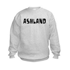 Ashland Faded (Black) Sweatshirt