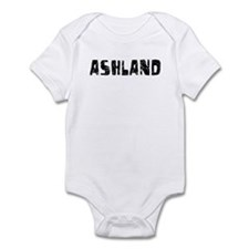 Ashland Faded (Black) Infant Bodysuit
