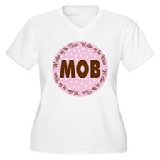 Polka Dot Bride's Mother T-Shirt