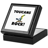 Toucans Rock! Keepsake Box