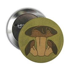 "Brown Mushroom 2.25"" Button"