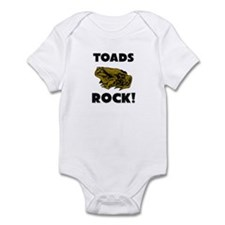 Toads Rock! Infant Bodysuit