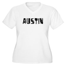 Austin Faded (Black) T-Shirt
