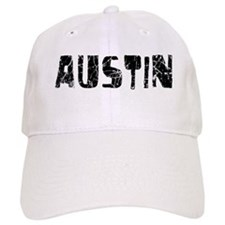 Austin Faded (Black) Baseball Cap