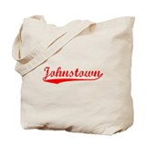 Vintage Johnstown (Red) Tote Bag
