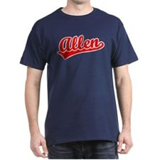 Retro Allen (Red) T-Shirt