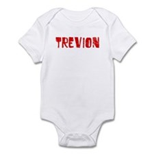 Trevion Faded (Red) Infant Bodysuit