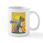 Pop Art Squirrel Mug