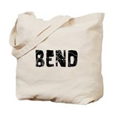 Bend Faded (Black) Tote Bag