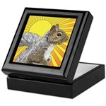 Pop Art Squirrel Keepsake Box