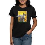 Pop Art Squirrel Women's Dark T-Shirt