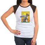 Pop Art Squirrel Women's Cap Sleeve T-Shirt