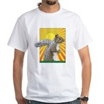 Pop Art Squirrel White T-Shirt