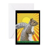 Pop Art Squirrel Greeting Cards (Pk of 20)