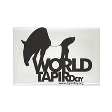 Rectangle Magnet: 'World Tapir Day'