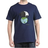 T-Shirt: 'Tapir on World'