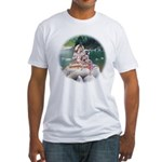 Shiva & Parvati Fitted T-Shirt