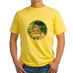 Shiva & Parvati Yellow T-Shirt