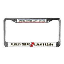 Coast Guard License Plate Frame