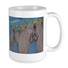 Six Angels Praying Mug