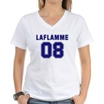 Laflamme 08 Women's V-Neck T-Shirt