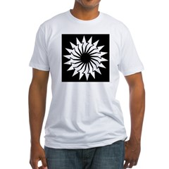 Abstract Image Fitted T-Shirt