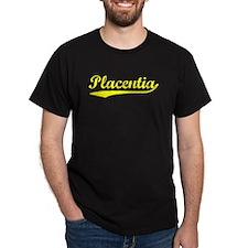 Vintage Placentia (Gold) T-Shirt