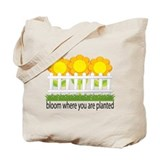 Garden Blooms Tote Bag