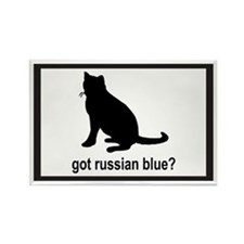 Got Russian Blue? Rectangle Magnet