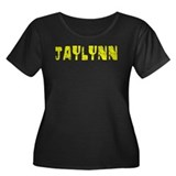 Jaylynn Faded (Gold) Women's Plus Size Scoop Neck