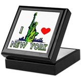 ...I Love New York... Keepsake Box